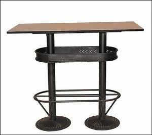 Table Mange Debout Style Industriel : table haute industrielle 110 table haute industrielle mange debout et table haute ~ Melissatoandfro.com Idées de Décoration