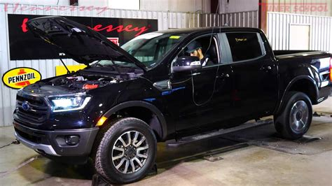 ford ranger dyno run reveals real power level