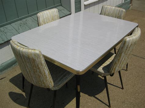 1950 kitchen furniture vintage 1950 39 s formica kitchen table w 4 chairs 50