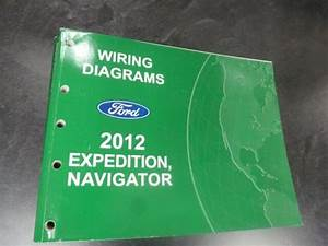 2012 Ford Expedition Electrical Wiring Diagrams Manual Xl
