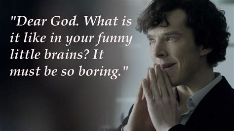 sherlock quote quotes holmes bbc wallpapers funny tv deviantart brains quotesgram