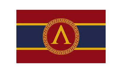 Sparta Ancient Greece Flags Flag Greek State