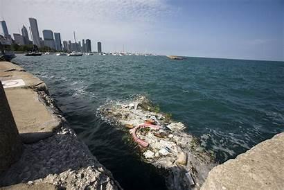 Debris Lake Michigan Aquarium Plastic Chicago Pollution