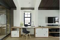 built in desk 30 Inspirational Home Office Desks