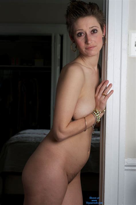 Brunette Nude Posing Indoors September Voyeur Web Hall Of Fame
