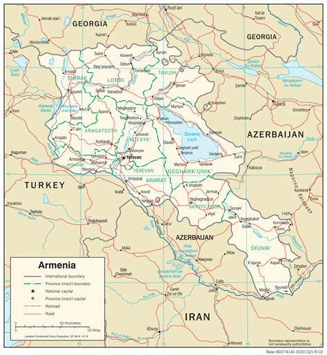 armenia maps perry castaneda map collection ut library