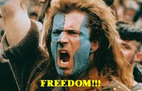Braveheart Freedom Meme - copyranter september 2014