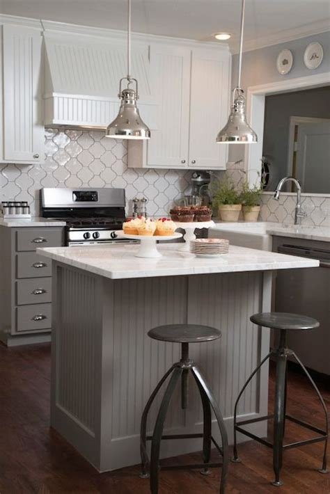 beadboard kitchen island transitional kitchen hgtv