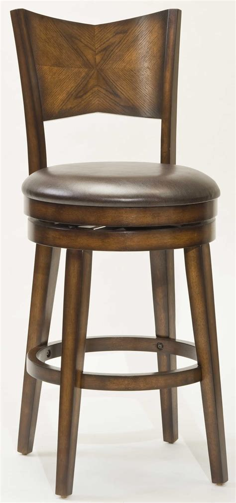 hillsdale wood stools    counter height