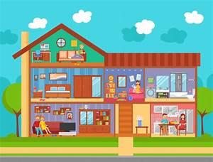 Concetto Di Interior Design Per La Casa Di Famiglia