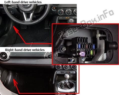 Fuse Mazda Diagram Box Mx 5miat by Mazda Mx 5 Miata Nd 2016 2019