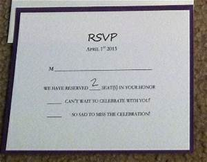 Show me your rsvp cards weddingbee for Wedding rsvp cards filled out
