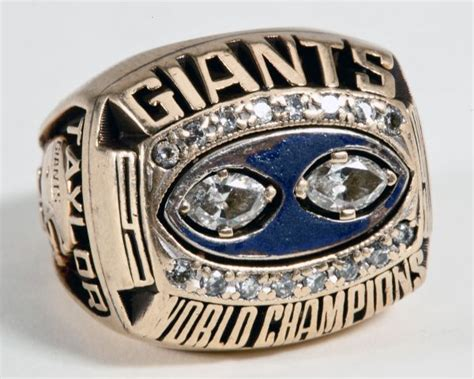 Tiffany Puts A Ring On It Super Bowl Xlvi Rings For New