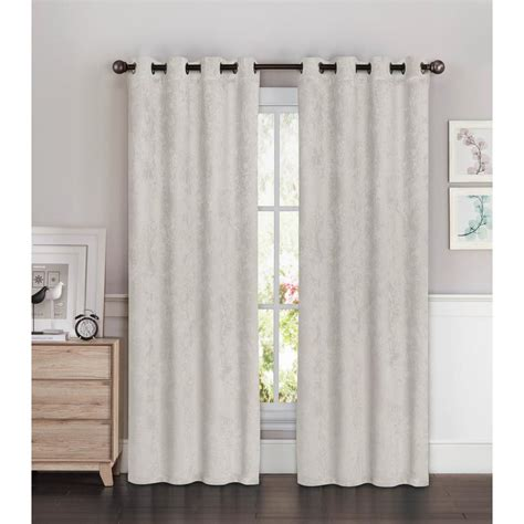 light grey curtains blackout faux suede wide 96 in l room