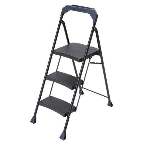 Gorilla Ladders 3step Steel Ladder With 250 Lb Load