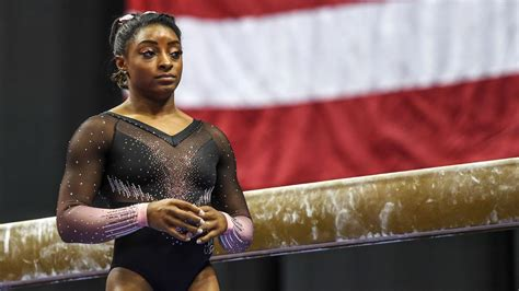 Simone Biles stops short of committing to postponed Games ...