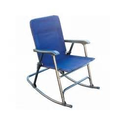 Folding Rocking Lawn Chair In A Bag by Folding Rocking Chair Outdoor Patio Deck Cing Lawn Seat