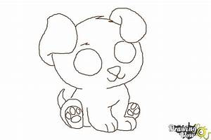 How to Draw a Chibi Puppy - DrawingNow
