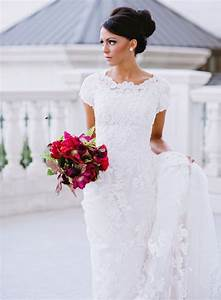 10 stunning high neckline wedding gowns the modest With high neckline wedding dresses