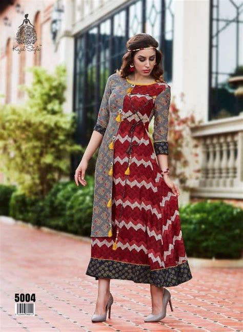 fancy printed kurti designs images simple craft ideas