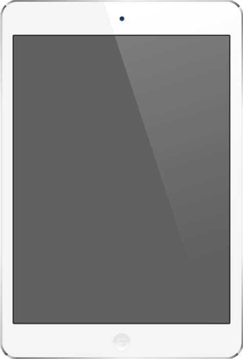 White iPad Air vector data   SVG(VECTOR):Public Domain   ICON PARK   Share the design. Download free.