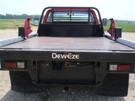 used deweze bale beds for sale buy used cab chassis dually 4x4 with dew eze bale bed