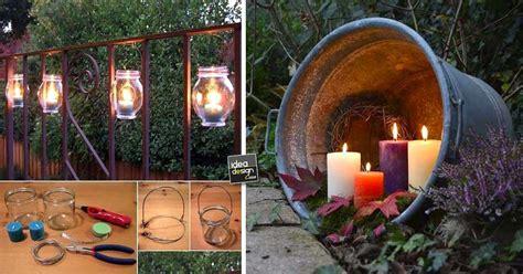 idee per il giardino illuminare il giardino in modo creativo 20 idee