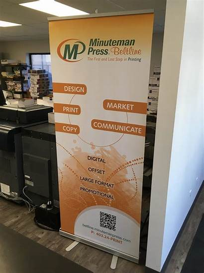 Banner Roll Rollup Banners Calgary Styles Follow
