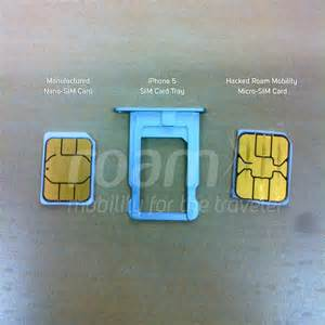 Nano Sim Card iPhone