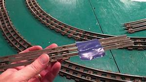 Why I Love Old Lionel Track    How To Cut Lionel Track 0