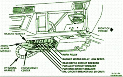1992 Buick Regal Blower Motor Fuse Panel Diagram by Chevrolet Lumina Questions Where May I Obtain A Free