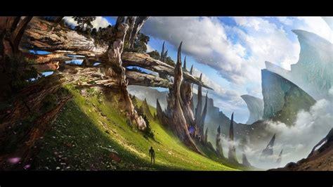 fantasy, Landscape, Art, Artwork, Nature, Scenery ...