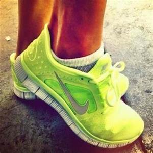 shoes, neon, nike - Wheretoget
