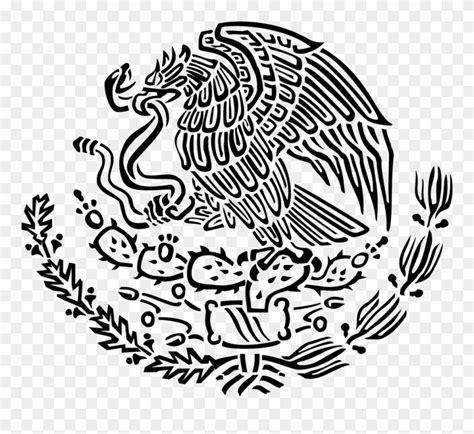 Clip Art Free Mexican Flag Deeptown Club - Mexican Coat Of ...