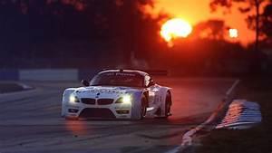 BMW, Sunset, Street, Car Wallpapers HD / Desktop and