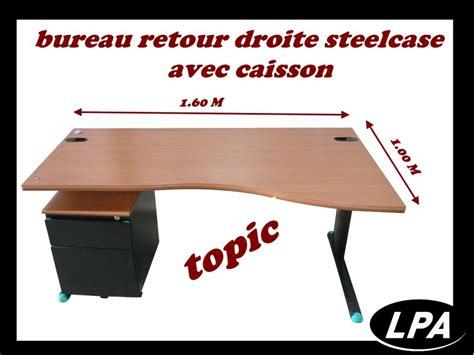 bureau retour bureau retour droite steelcase topic bureau mobilier