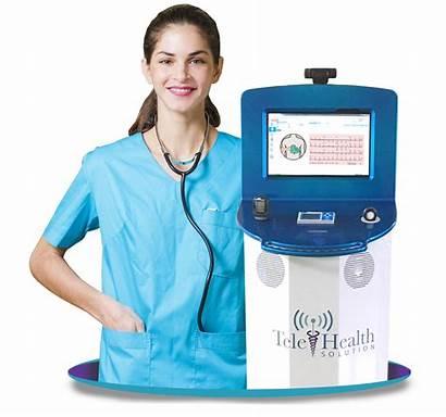 Telemedicine Cart Sans Ecg Amd Temp Telehealth