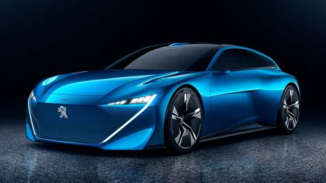 This Peugeot Instinct Is A 300hp Plug In Hybrid That