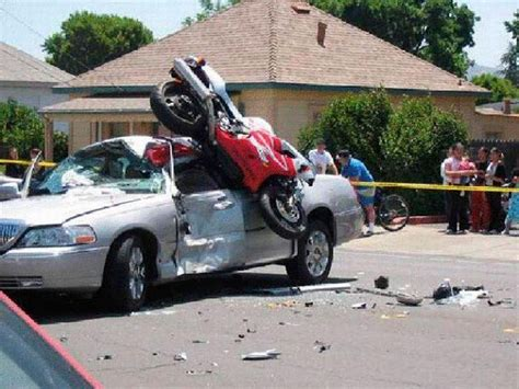 Motorcycle Crashes, You're Doing It All Wrong!