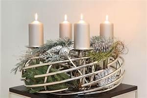 Adventskranz Aus Metall Dekorieren : adventskranz corona rund von fink ~ Michelbontemps.com Haus und Dekorationen