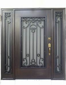 Puertas Principales Forja Herreria Moderna