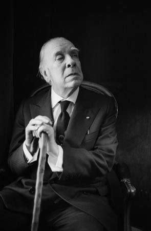 Argentinian Writer Jorge Luis Borges