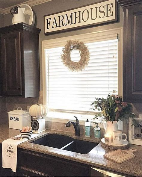 Farmhouse Kitchen Decorating Ideas by 122 Cheap Easy And Simple Diy Rustic Home Decor Ideas 46