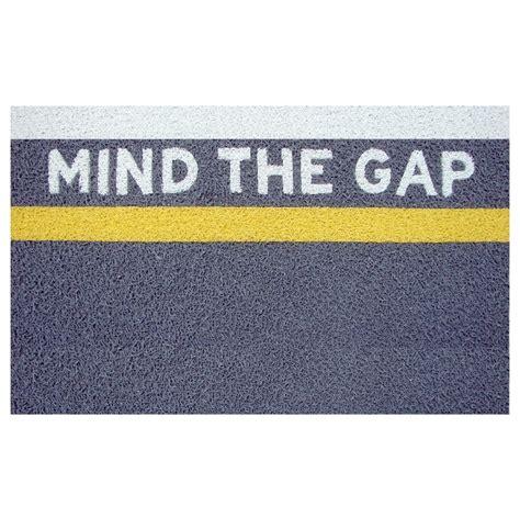 mind the gap doormat doormat paspas home design