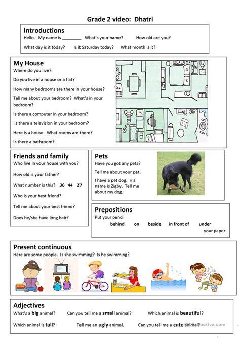 Trinity Gese Grade 2 Video Worksheet Worksheet  Free Esl Printable Worksheets Made By Teachers