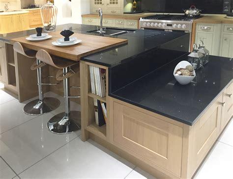split level kitchen island contemporary kitchen island design in lissa oak with