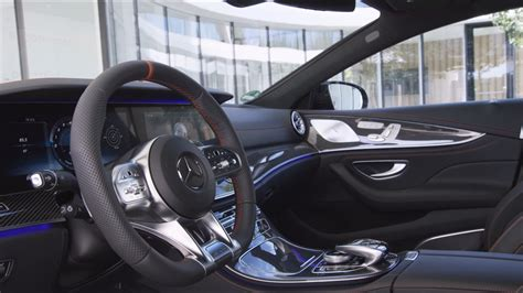 video interior  design  mercedes amg cls