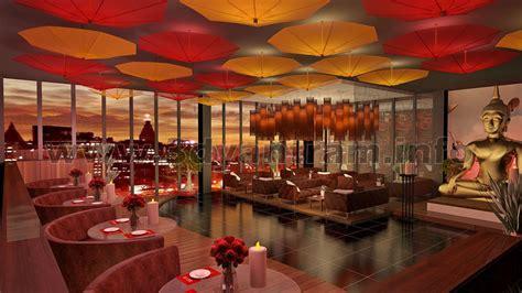 bar restaurant  interior design  interior