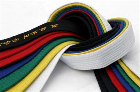 belts east coast tae kwon