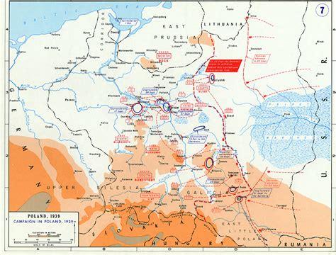 battle  poland maps historical resources